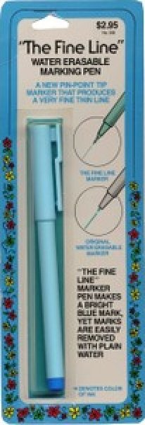The Fine Line Air Erasable Marking Pen