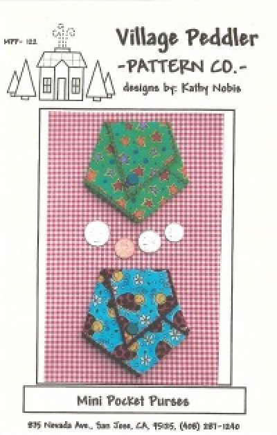 Pattern: Mini Pocket Purses from Village Peddler Pattern Co.