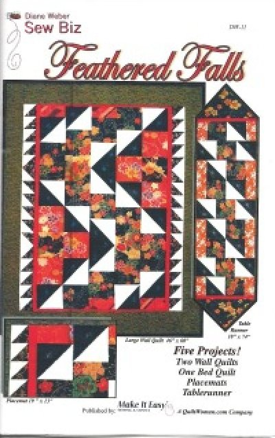 Pattern: Feathered Falls from Make It Easy