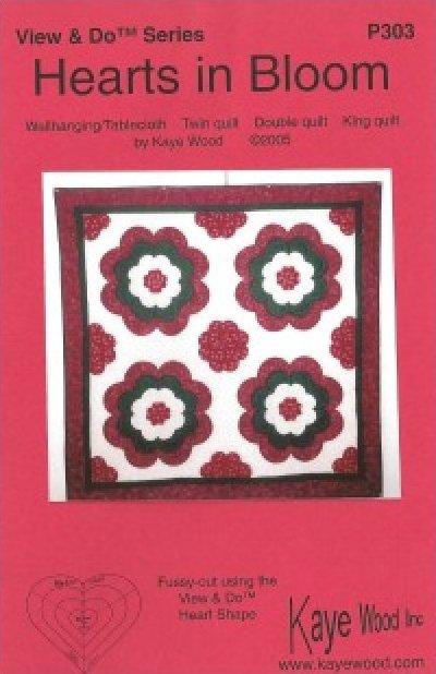 Pattern: Hearts in Bloom by Kaye Wood