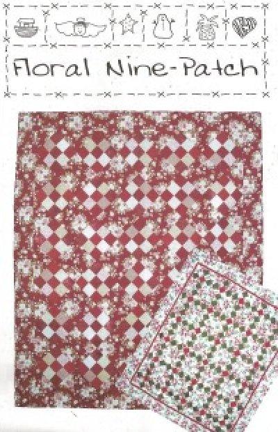 Pattern: Floral Nine-Patch