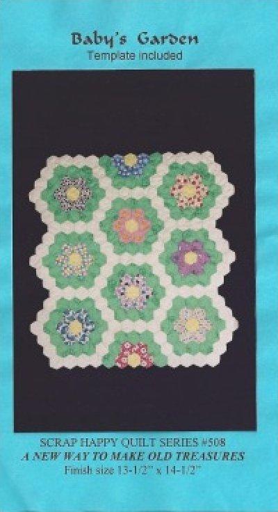 Pattern: Baby's Garden From Scrap Happy Quilt Series