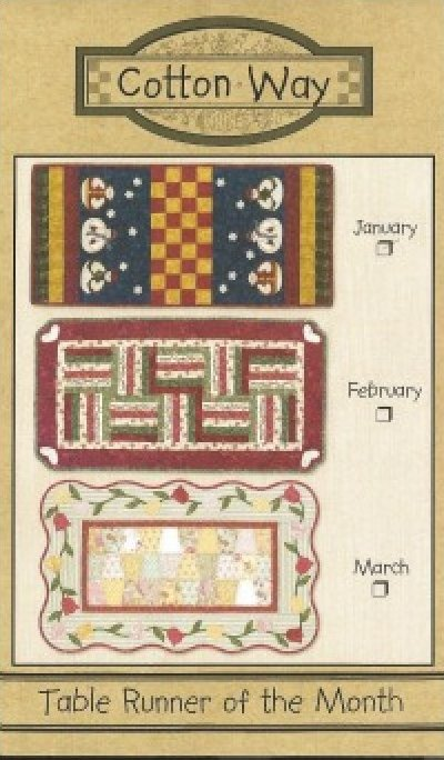 Pattern: March Table Runner