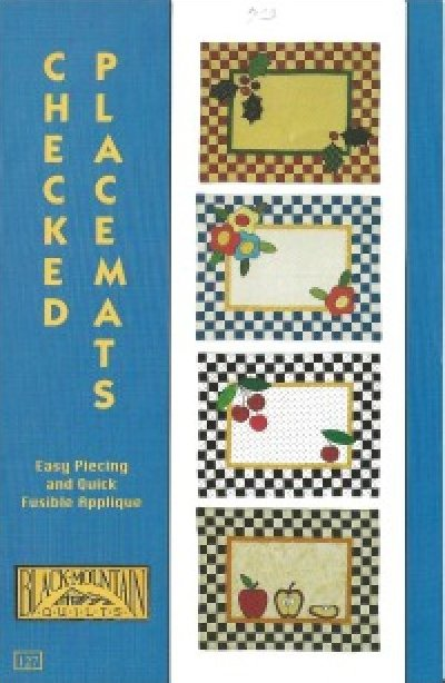 Pattern: Checked Placemats