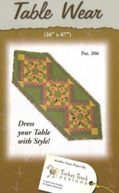 Pattern: Table Wear from Turkey Track Designs