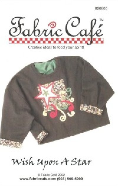 Pattern: Wish Upon a Star by Fran Morgan for Fabric Cafe