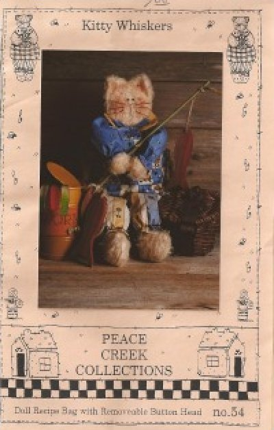 Pattern: Kitty Whiskers by Linda Stubbs for Peace Creek Collections