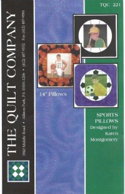 Pattern: Sports Pillows