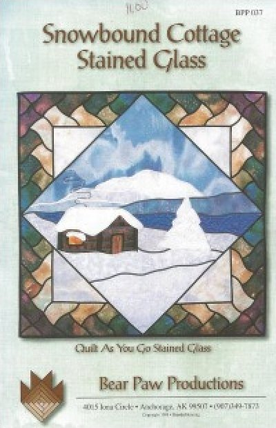 Pattern: Snowbound Cottage from Bear Paw Productions