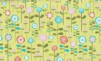 Happier by Deena Rutter for Riley Blake Designs (green)