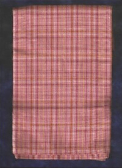Pink Plaid Tea Towel