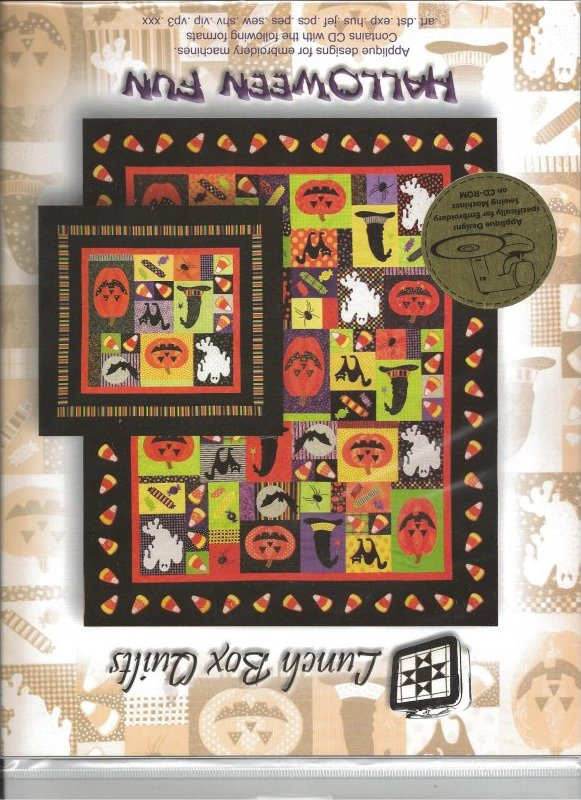 Halloween Fun Quilt from Lunch Box Quilts