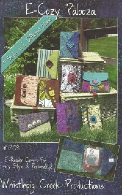 E-Cozy Palooza E-Reader Covers from Whistlepig Creek Productions
