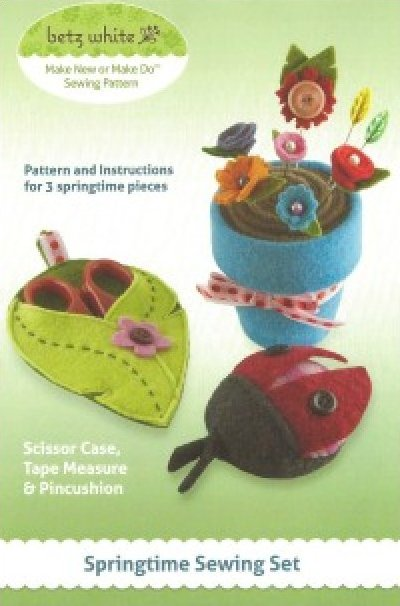 Springtime Sewing Kit from Betz White