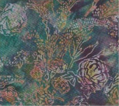 Floral in Jade by Hoffman