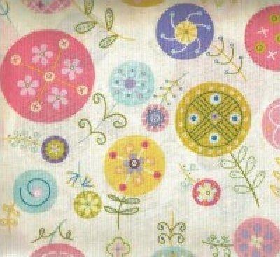 Cream Lollipop by Linda Solovic for Timeless Treasures
