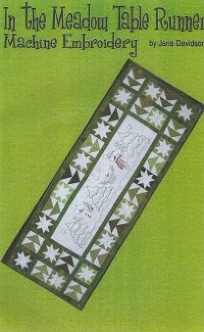 In the Meadow Table Runner by Jana Davidson of Turnberry Lane