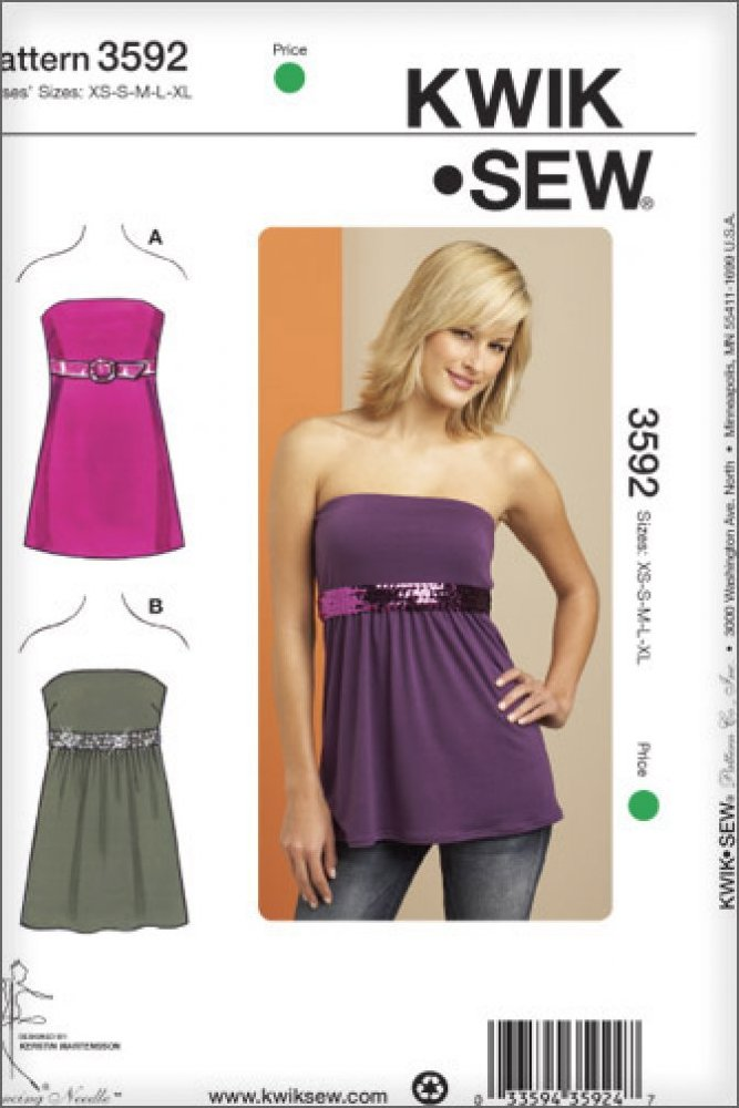 Kwik Sew - 3592 - Empire Waist