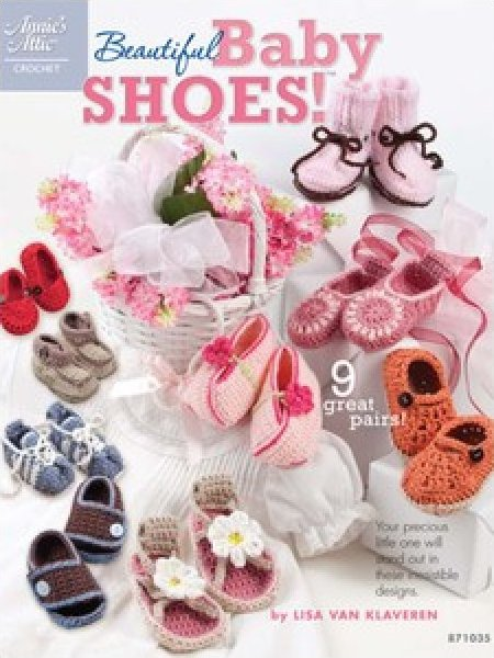 Beautiful Baby Shoes (Crochet)