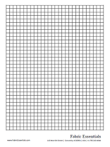 Fabric Essentials  Graph Sheet Download