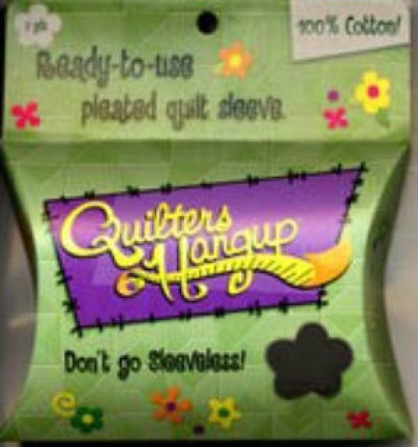 Quilter's Hang Up Quilt Sleeve - Black