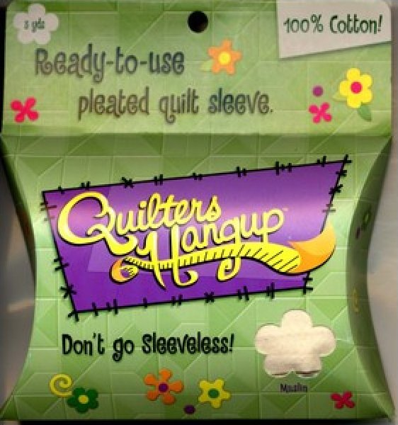 Quilter's Hang Up Quilt Sleeve - Natural