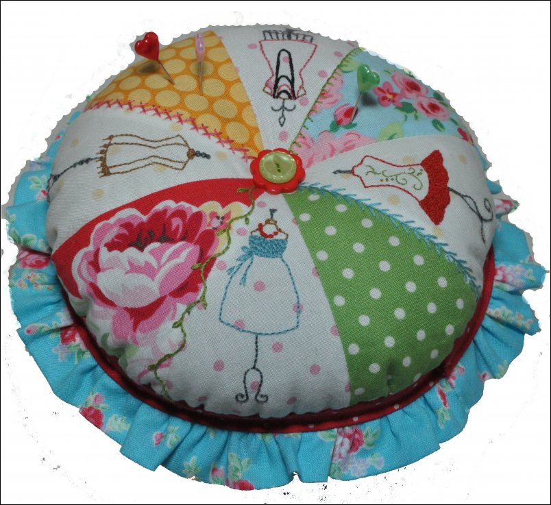 Slice of Style Pin Cushion