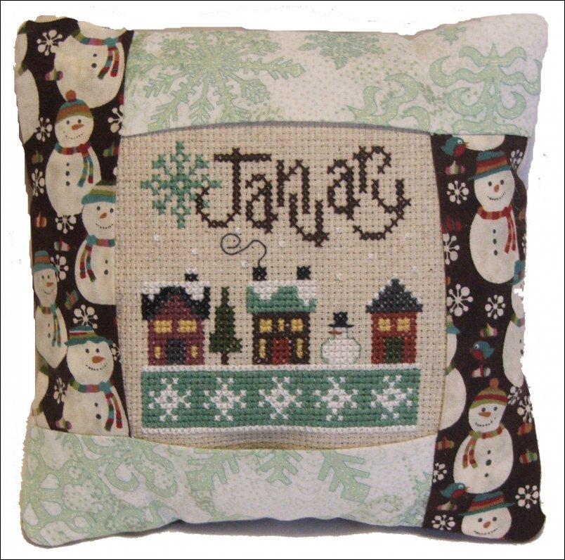 January pillow kit #962