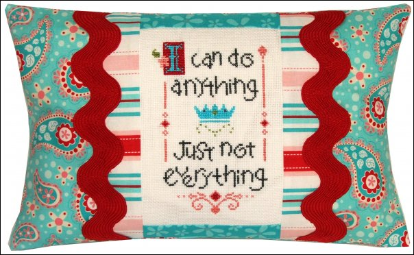 I Can Do Anything pillow kit #466
