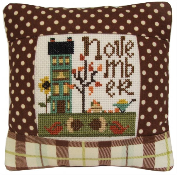 November Small Pillow-972