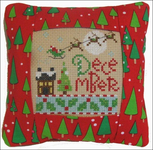 December Small Pillow-973
