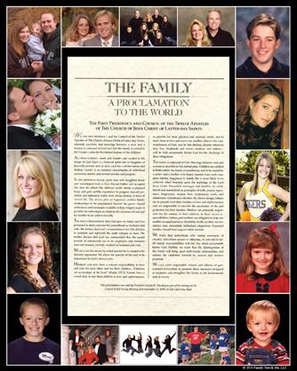 Family Proclamation OPTION B:  16 photo spots