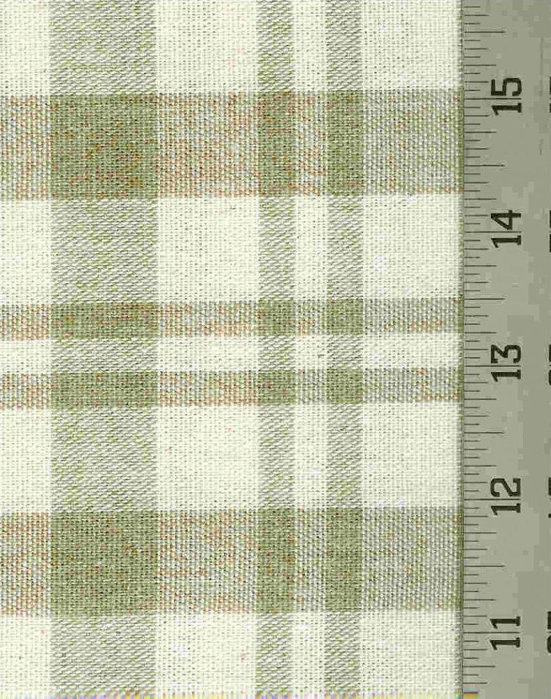 Cotton Yarn Dye Plaid - Home Dec Weight