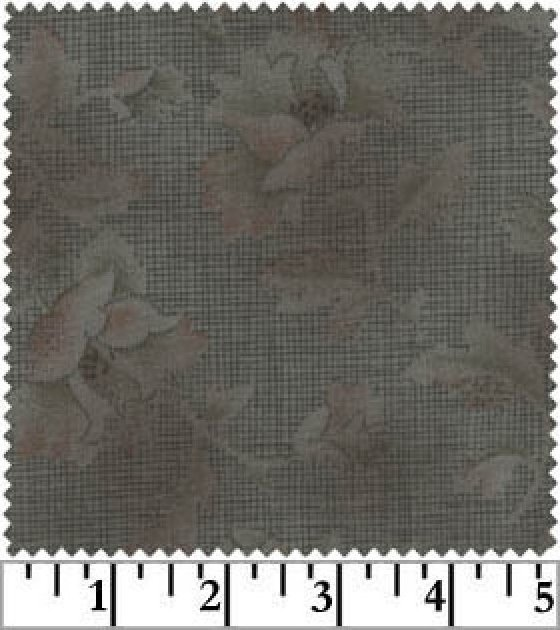 Serenity Taupes Gray Floral