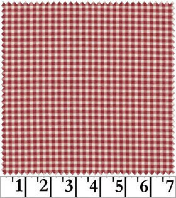 Return to Romance Flannel Red Check