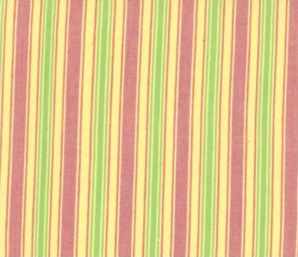 Maypole Yellow Woven Stripe