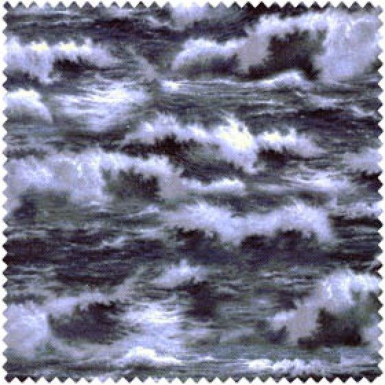 Thomas Kinkade Stormy Waves