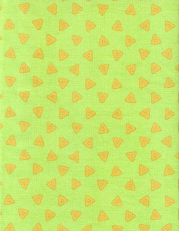 Stix and Stones Lime/Orange Triangles