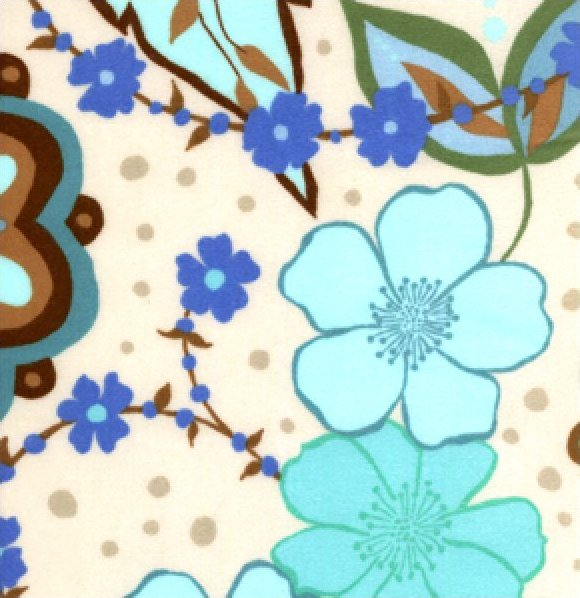 Valorie Wells Urban Flannel Medallion Blue