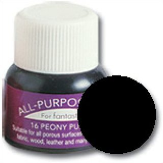 Tsukineko All Purpose Ink #75 Black Pearl (Metallic)