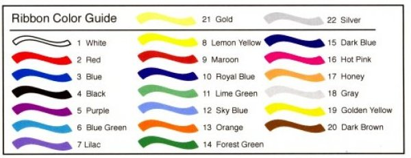 Hot Ribbon (Color Group A)