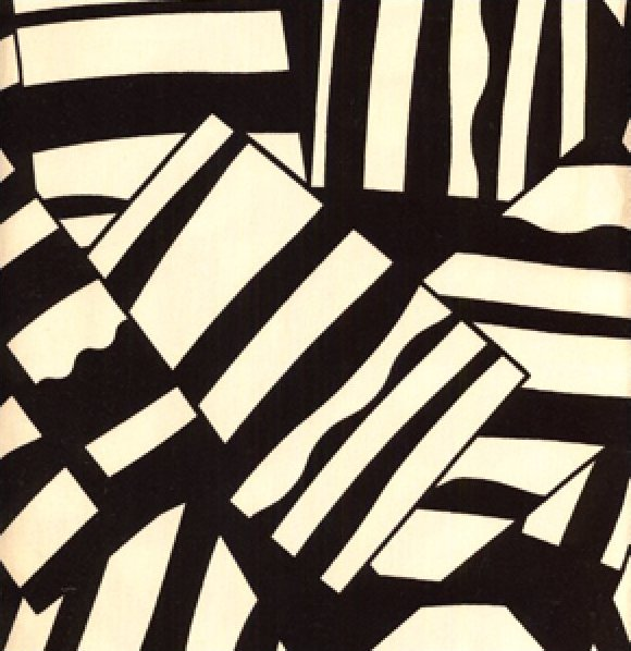 Luella Doss Hot Flash Stripe Patches Tan/Black