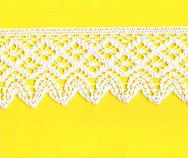 Cotton Dentelle Lace 2-1/2