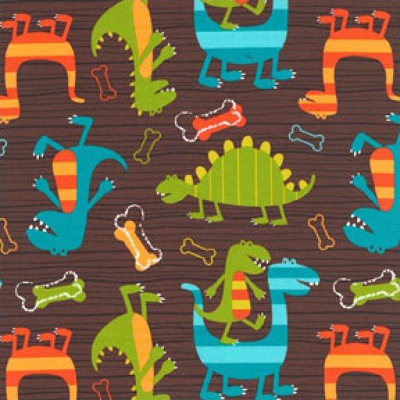 Dinosaur Laminate Brown