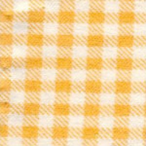 Aunt Polly's Flannel Gingham Peach