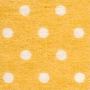 Aunt Polly's Flannel White Dots on Peach