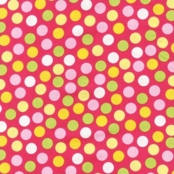 Urban Zoologie Dots on Bright Pink