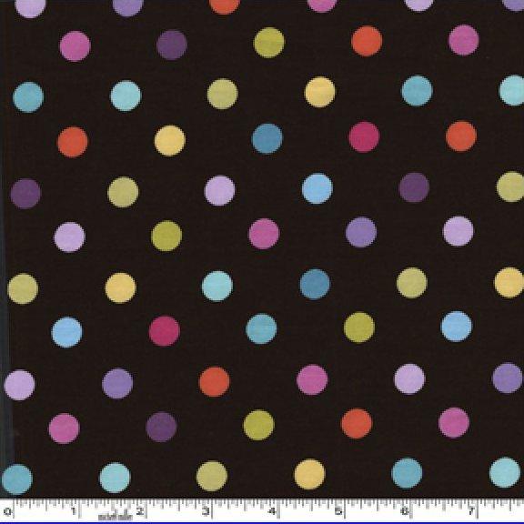 Michael Miller Cocoa Dot