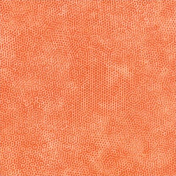 Dimples Flannel Orange