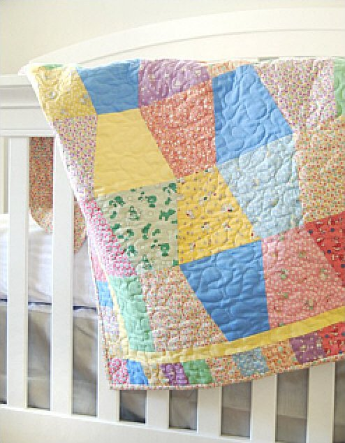 Angel Wings Baby Quilt Kit by Moda Fabrics Baby Quilt Kit
